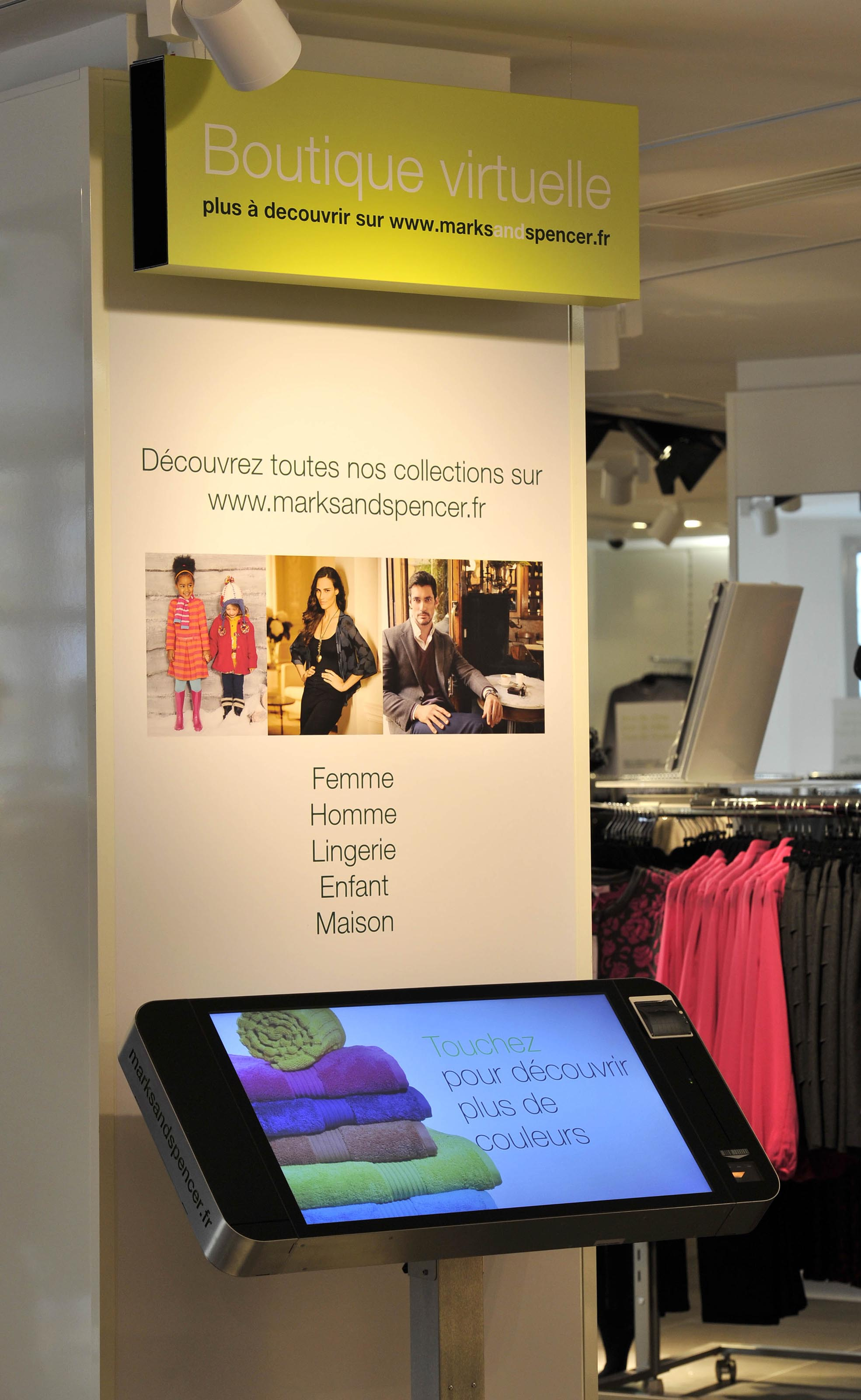 marks and spencer fashion store polytouch 32 classic