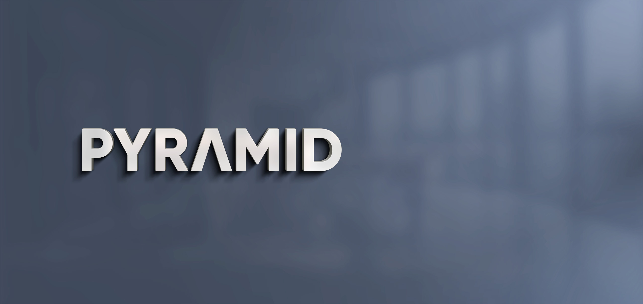 Pyramid Logo in a new look!