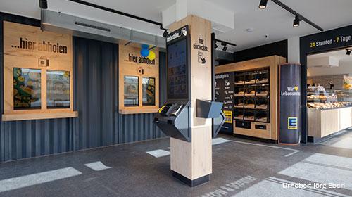 Smart Stores: Durchdigitalisierte Lebensmittel-Kioske ermöglichen den Rund-um-die-Uhr-Einkauf