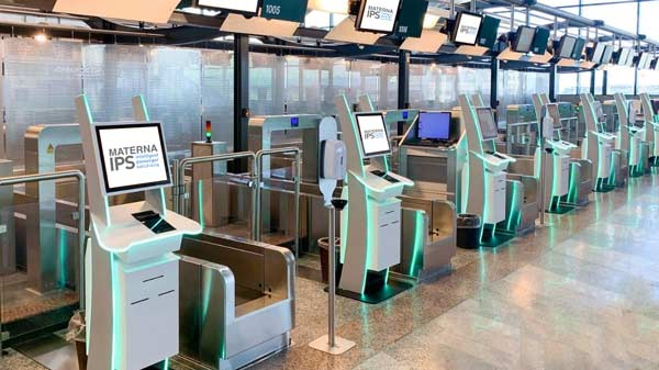 New self bag drop installation at Milano Malpensa Airport