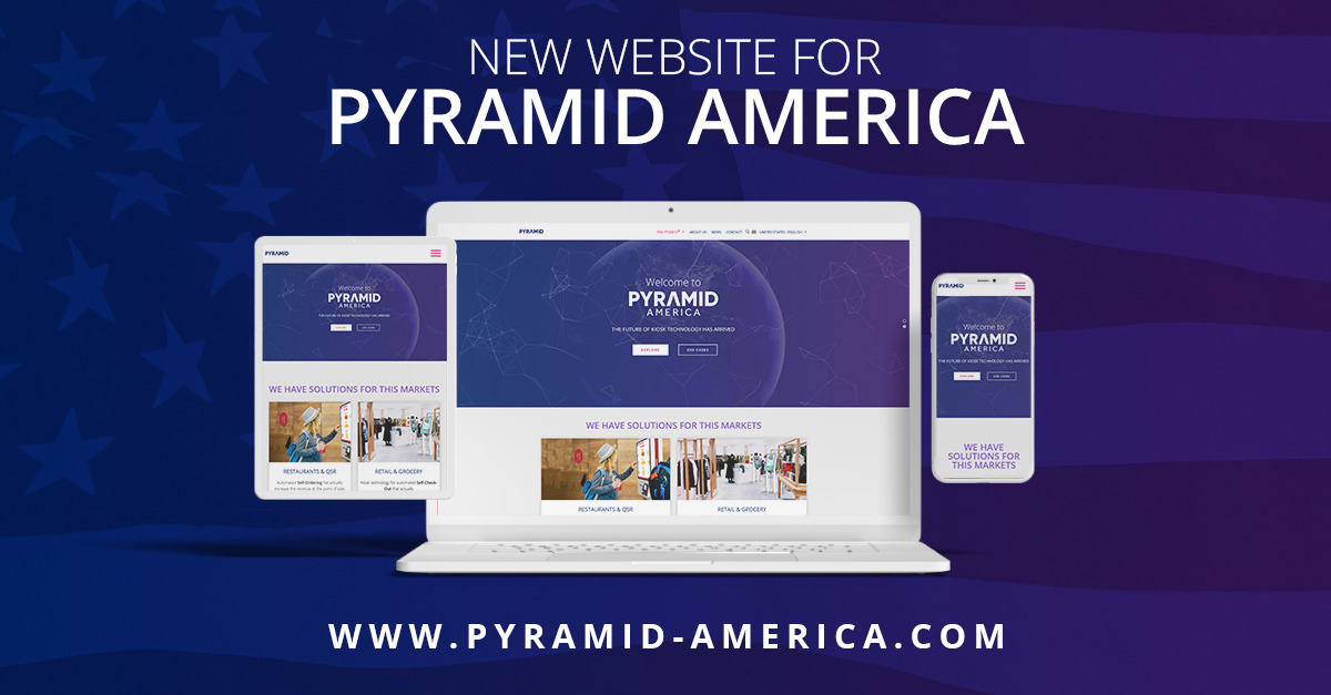 The right information and overview of our self-service kiosk solutions especially tailored for the US Market – On our new Pyramid U.S. Website!